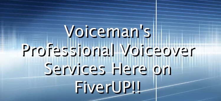 record a professional male voiceover