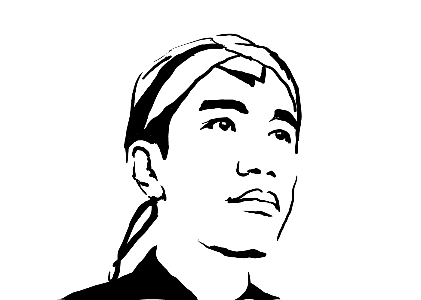 Make Your Portrait in my Line Art Style