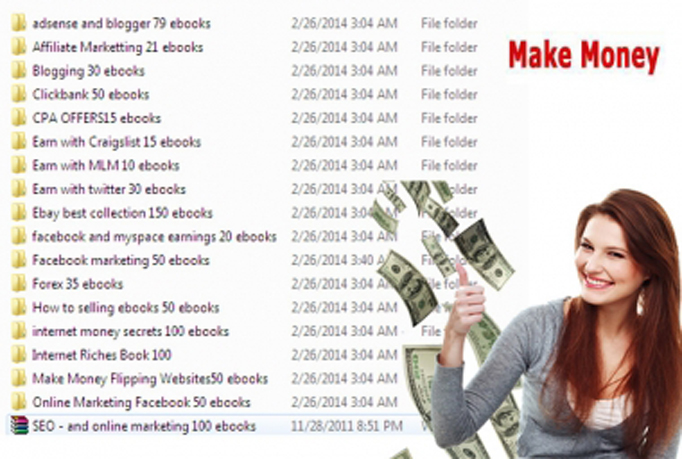 send 500 eBooks to earn 200usd daily