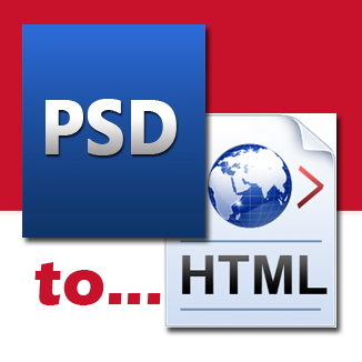 convert your psd design into html