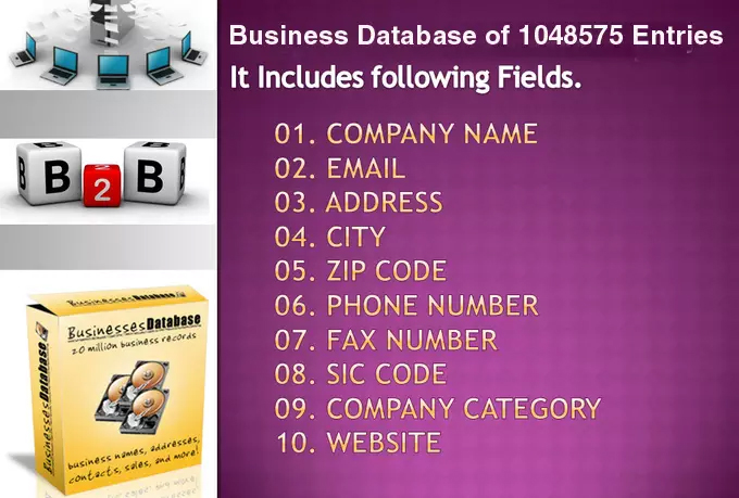 email lists of California and Arizona Business Directory