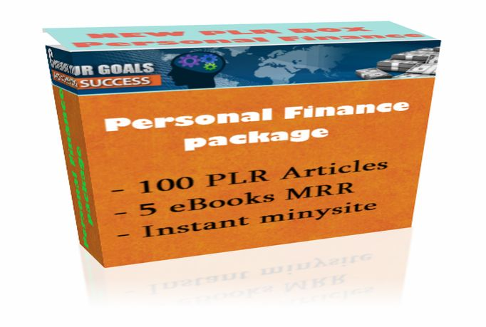 give you Personal Finance Pack