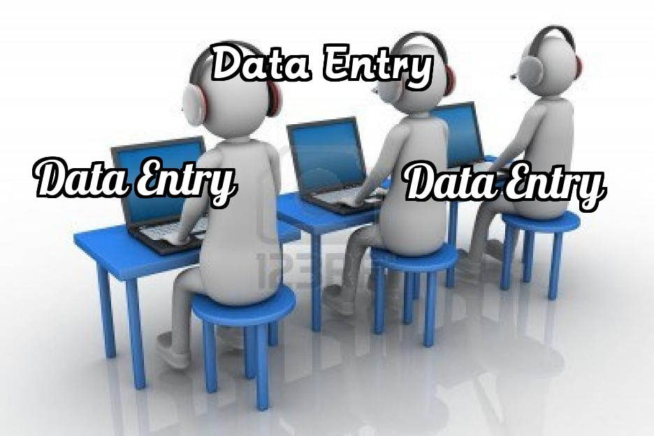 do all kind data entry task