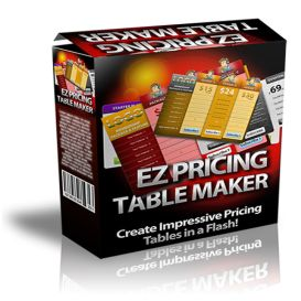 give you Ez Pricing Table Maker
