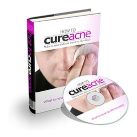 """give you audio eBook """"How To Cure Acne"""""""