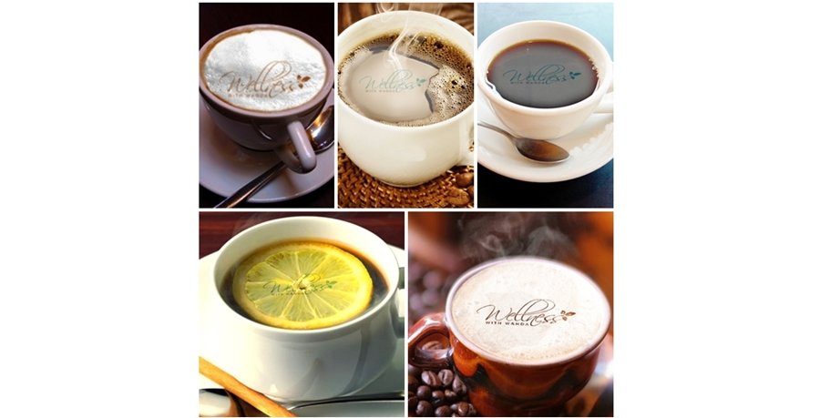 edit Your Logo Or Photo In Many Different Coffees