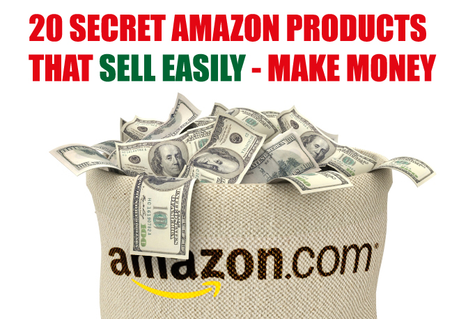 provide a list of 20 easy to sell Amazon niche products that literally fly off the shelf
