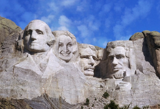 put your face on mount rushmore