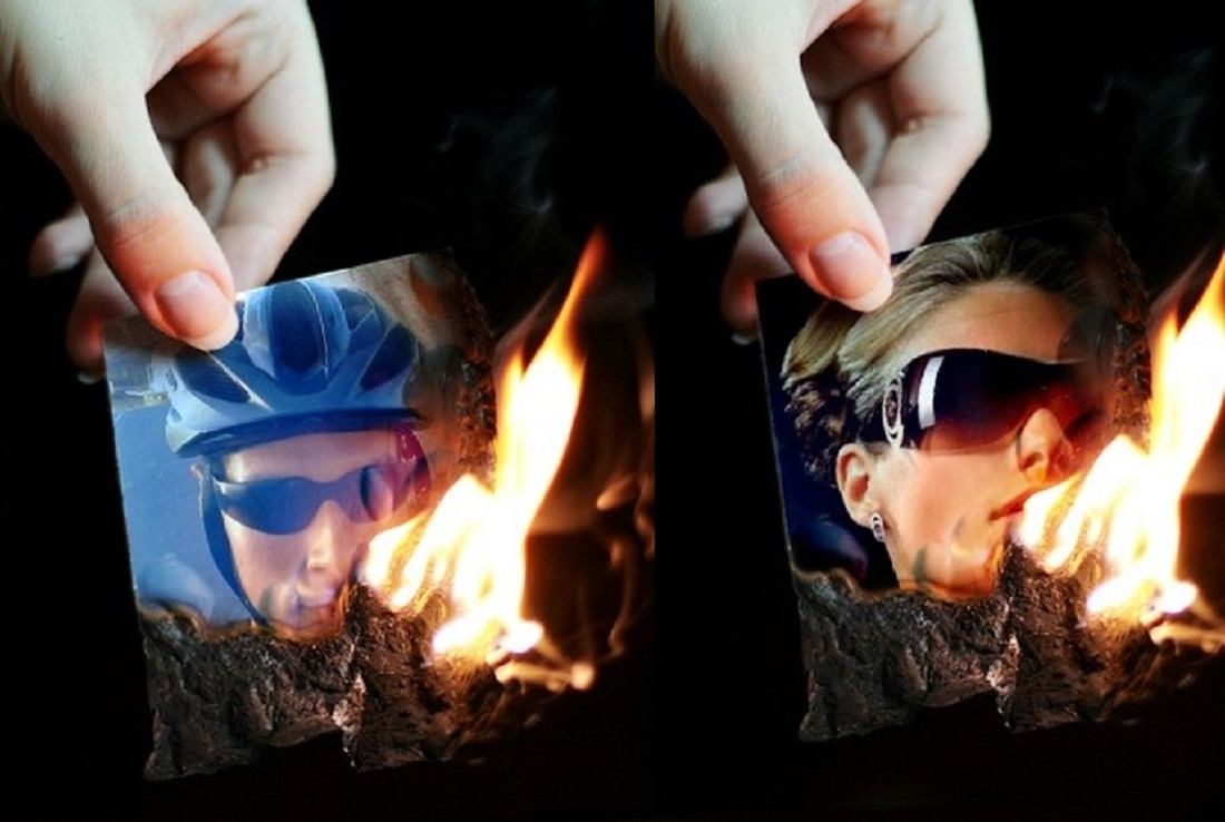 burn a photo of anything you want