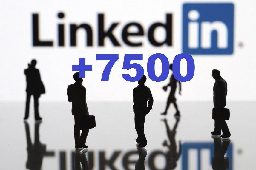 get you 7500 REAL LinkedIn Connections list from Active Members