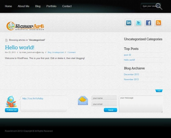 do any work related to Wordpress