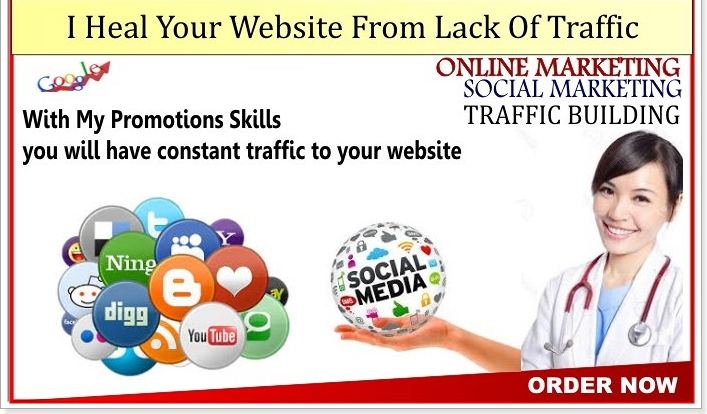 heal your WEBSITE from lack of traffic