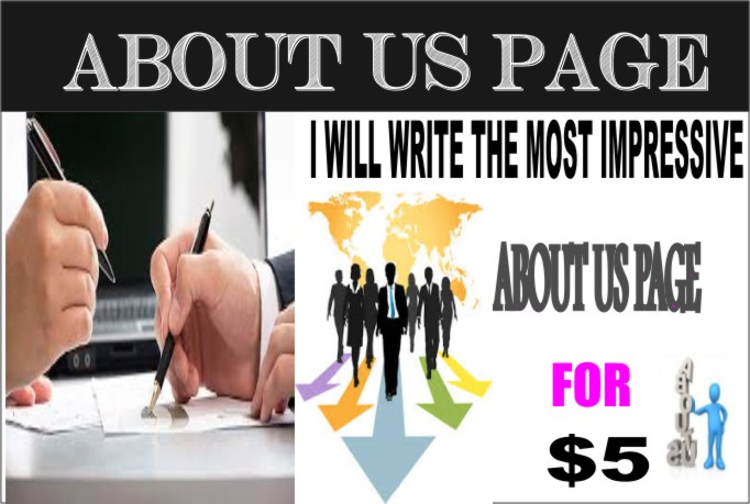 write The Most IMPRESSIVE About Us Page