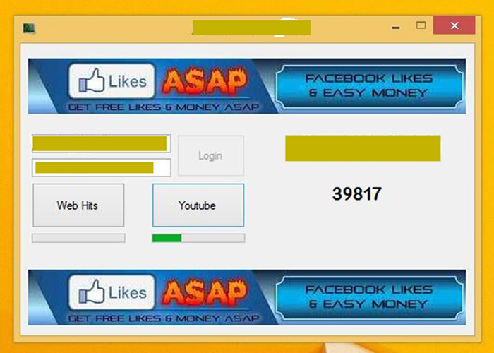 Give AddMeFast Software 100% Working Bot not Imacros Get Unlimited Point