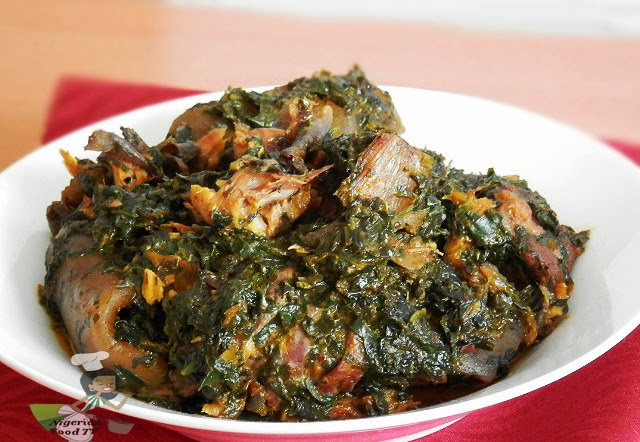 teach How To Prepare African Afang Soup