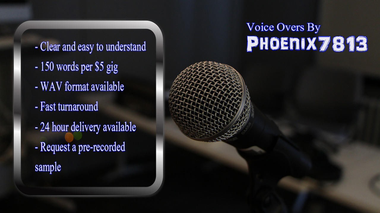 create an easy to understand US Male Voiceover upto 150 words per gig
