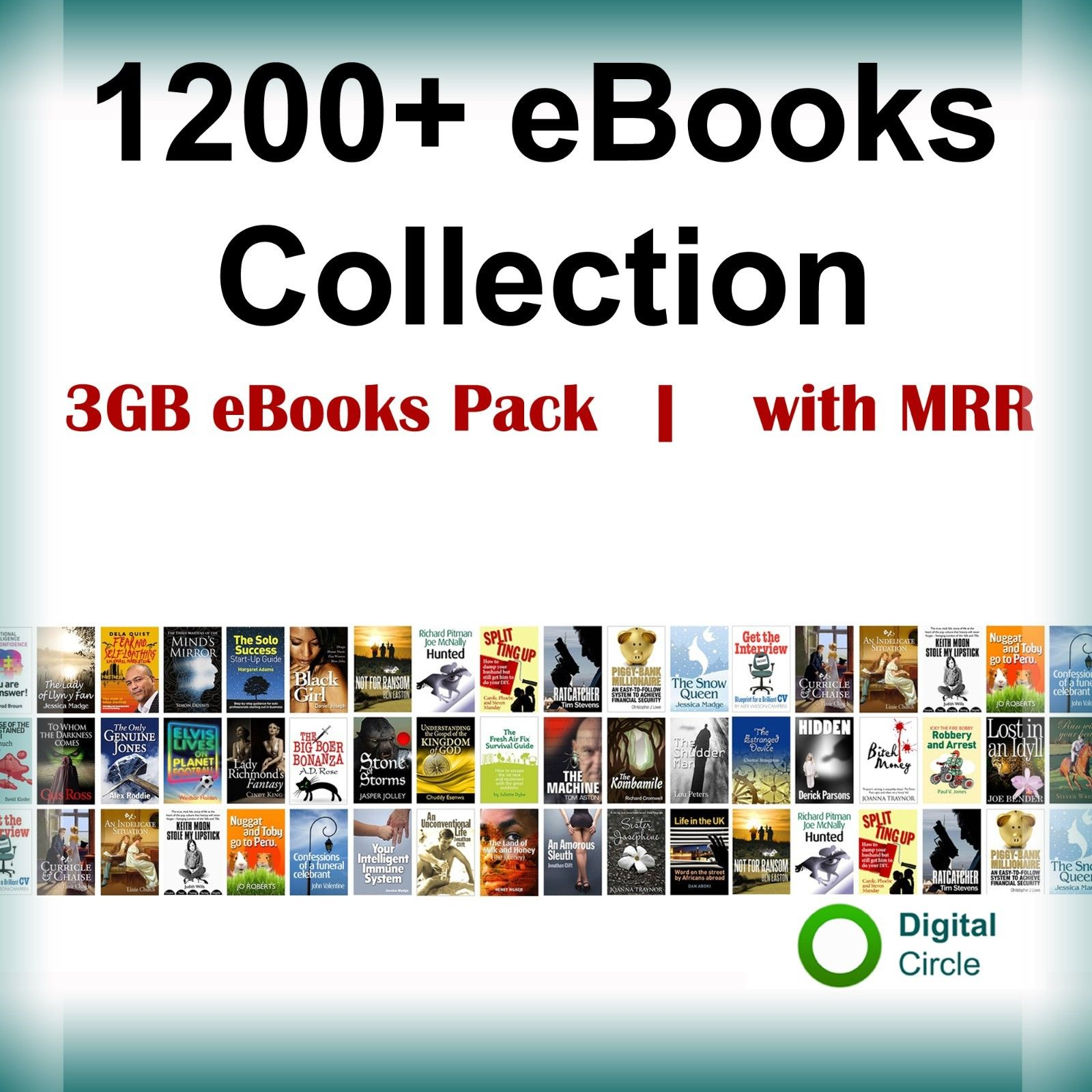 give you 1200+ eBooks and PLR Collection   with Master Resell Right Instantly