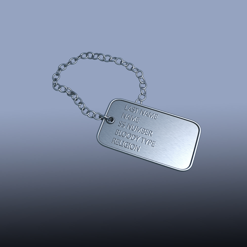 do 3d tags and medals ready for print