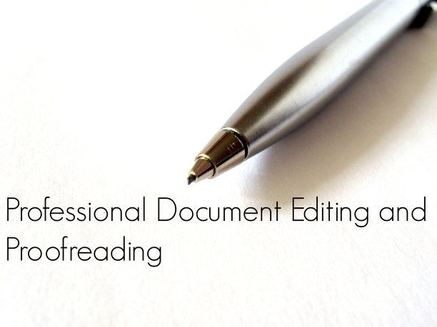 edit and proofread any document