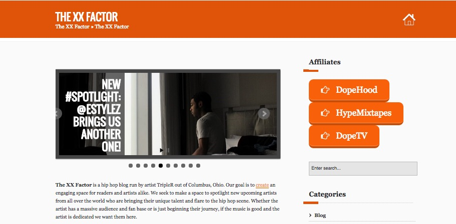 feature you front page on my popular hip hop blog
