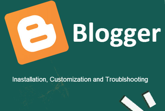 design and customize Blogger Blog/Template for you