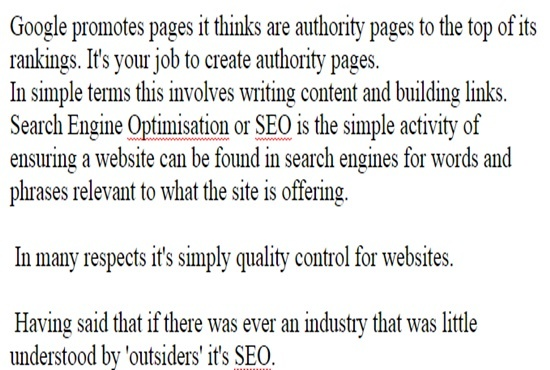 write 800 word for SEO article