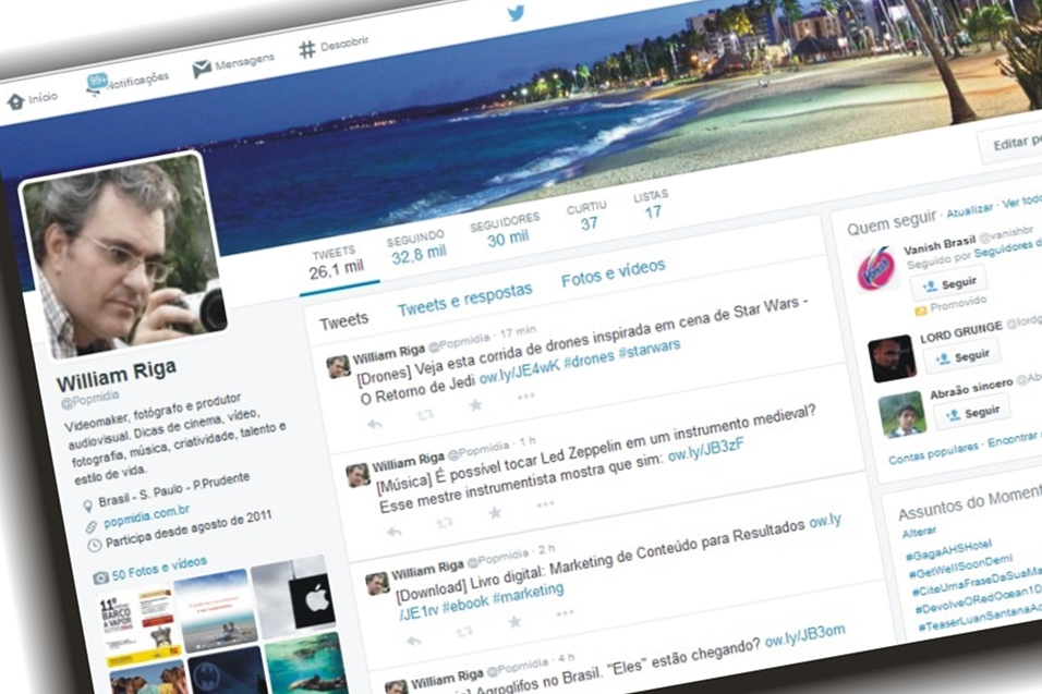 promote your link to 38,000 Brazilian followers