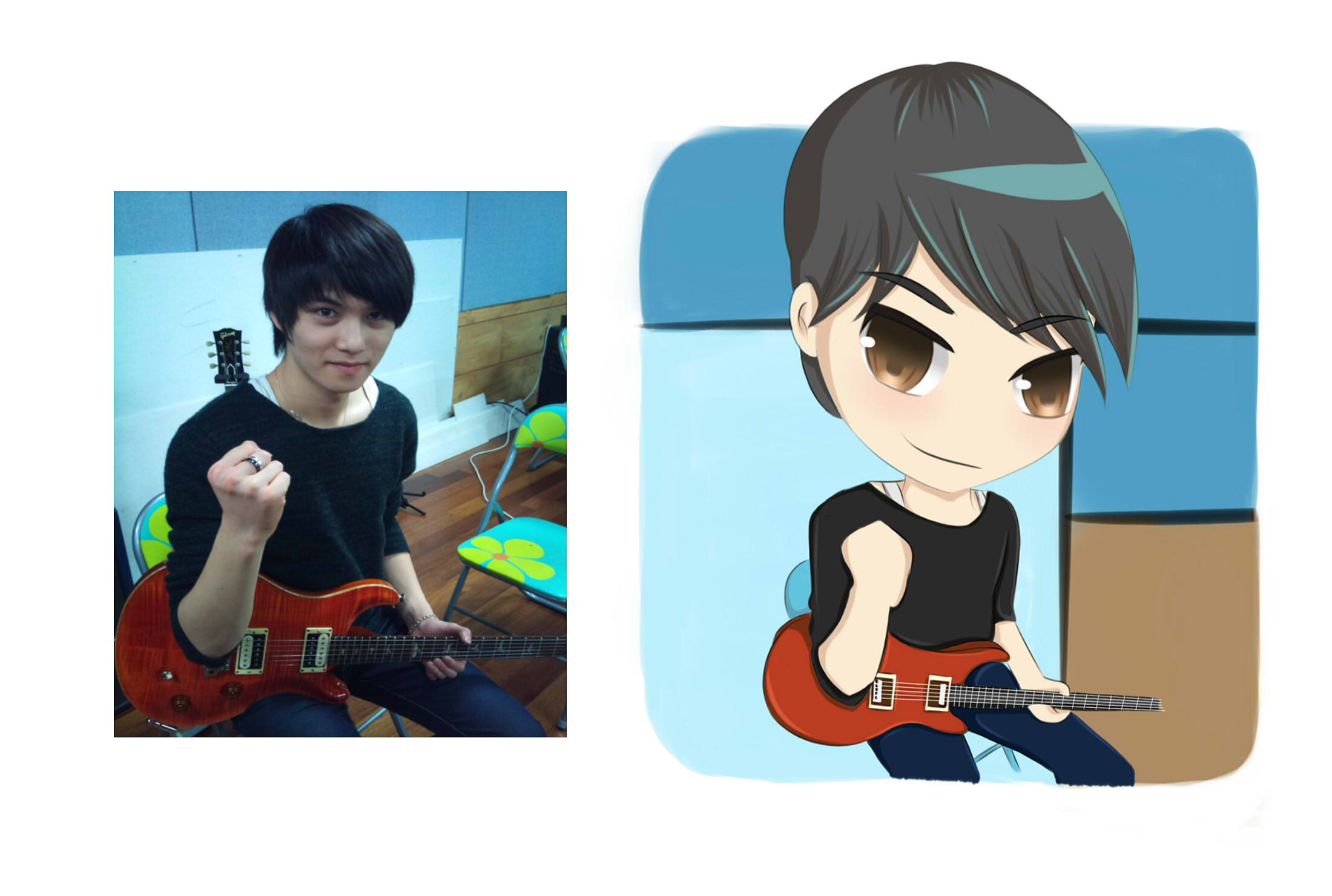draw a cute chibi version of yourself