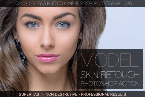 give you my photoshop skin retouch action