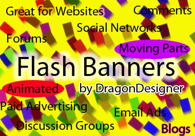 make a flash banner for your website