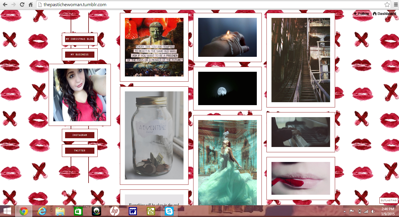 customize a Tumblr page for you
