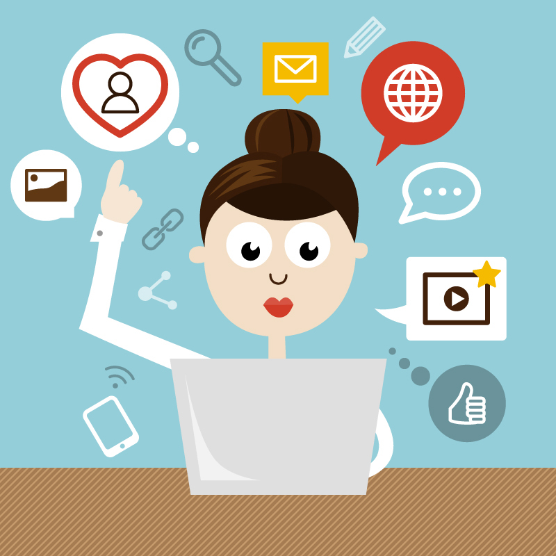 be your social media manager for 2 days