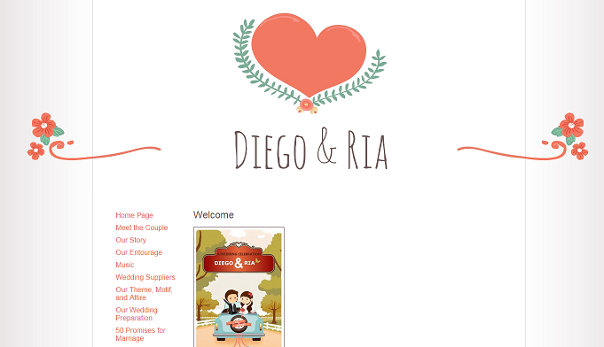 build your wedding website and design your invitation