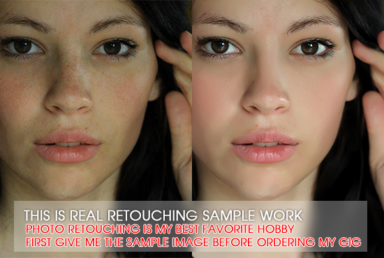 Retouch your 10 Pics