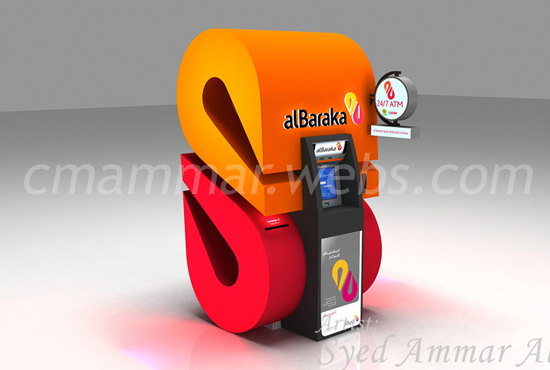 Design 3D Kiosk or Product Display with Revisions
