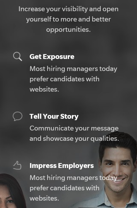 create a professional blog for your career and job search