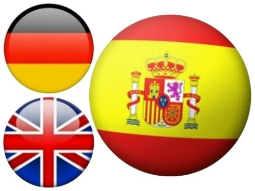 Translations from German and English into Spanish up to 500 words
