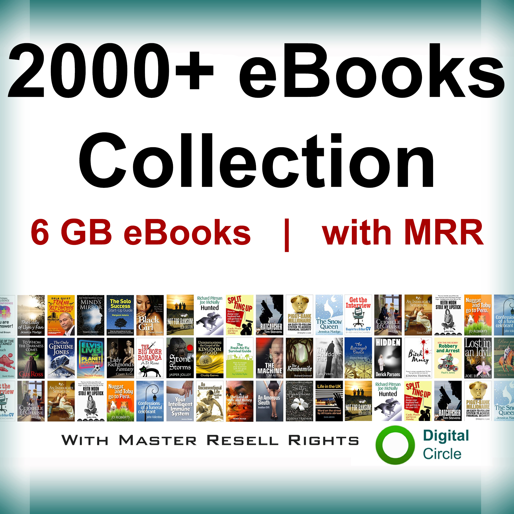 Give 2000 eBooks Collection with Master Resell Rights