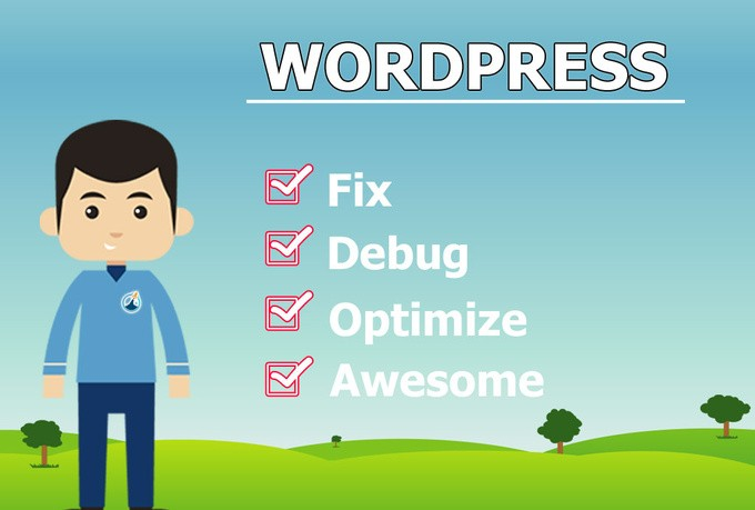 fix any design issue on your Wordpress