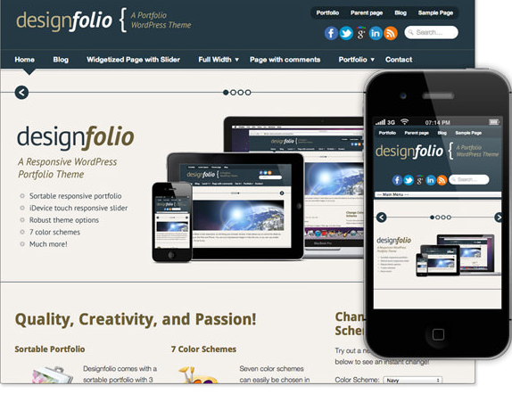 Create a 4 Page website (Mobile Responsive)