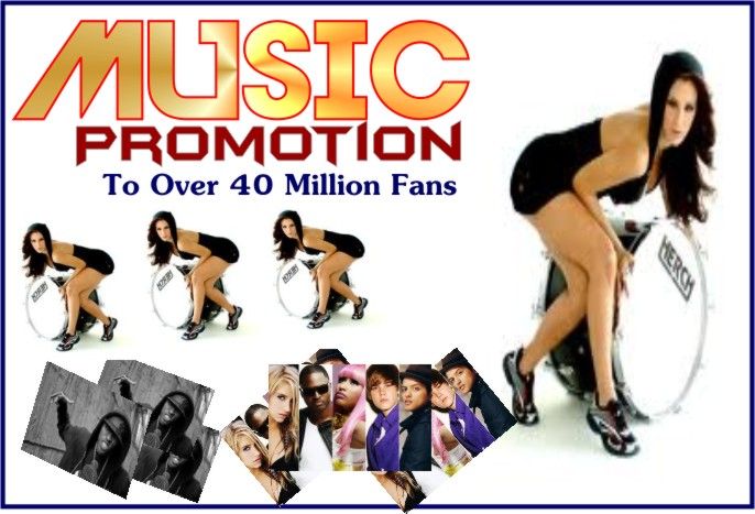 promote your MUSIC up to over 40 Million music lovers