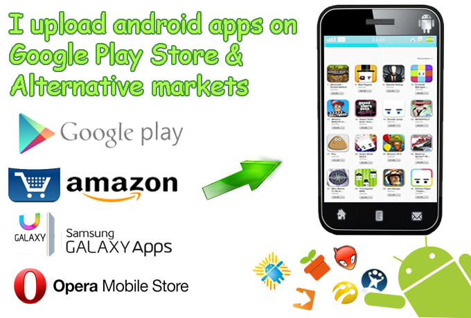 upload apps on android alternative app stores
