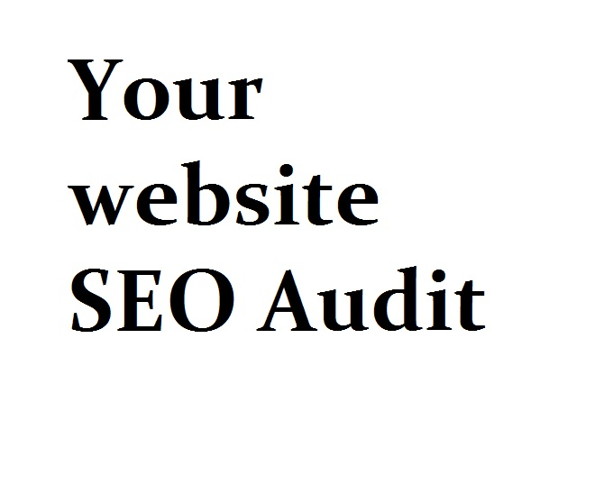 Conduct an SEO audit for your website