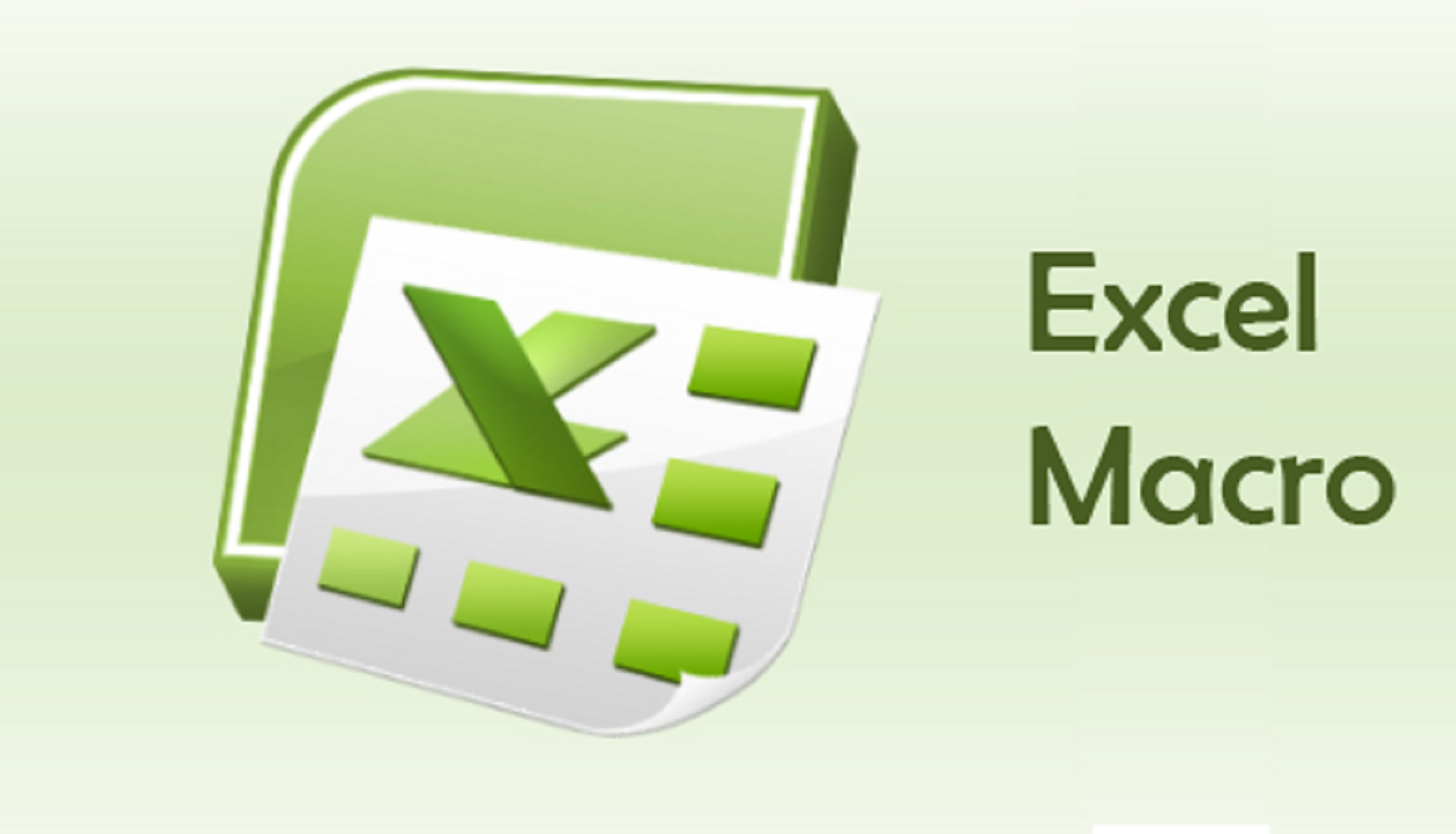 create macro in excel for automation