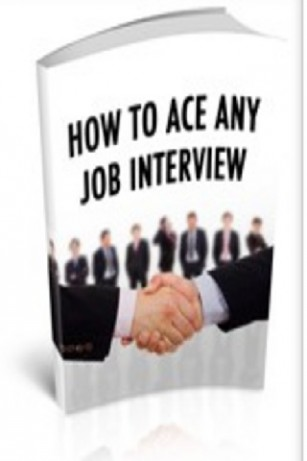 send you an e-book on How To Ace Any Job Interview