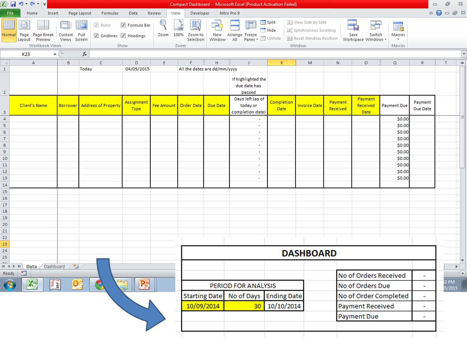 prepare excel reports for you