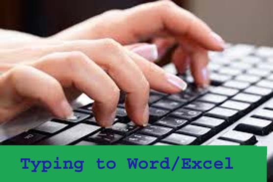 TYPE from scan Image Pdf to Word Excel for 3 hours