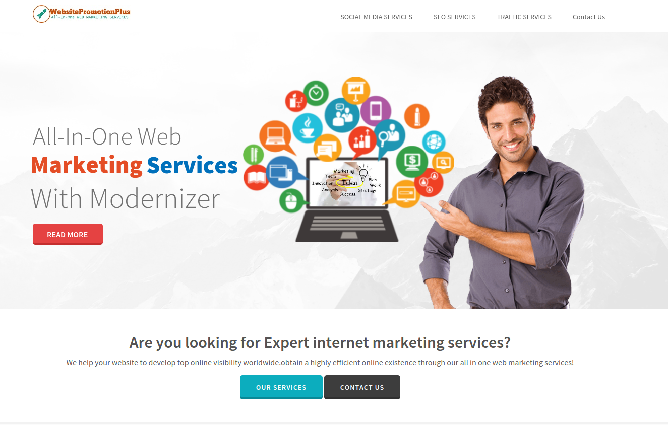 setup a ready to run web marketing reseller site
