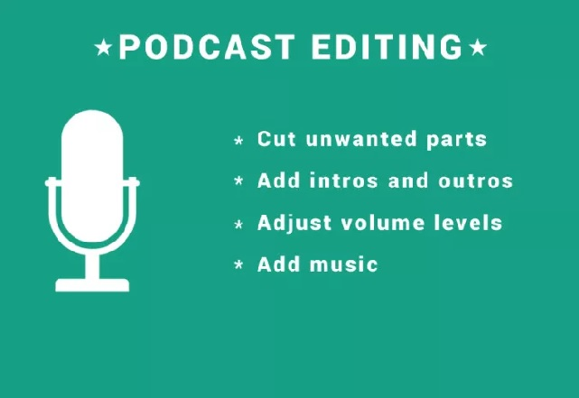 edit audio for your podcast