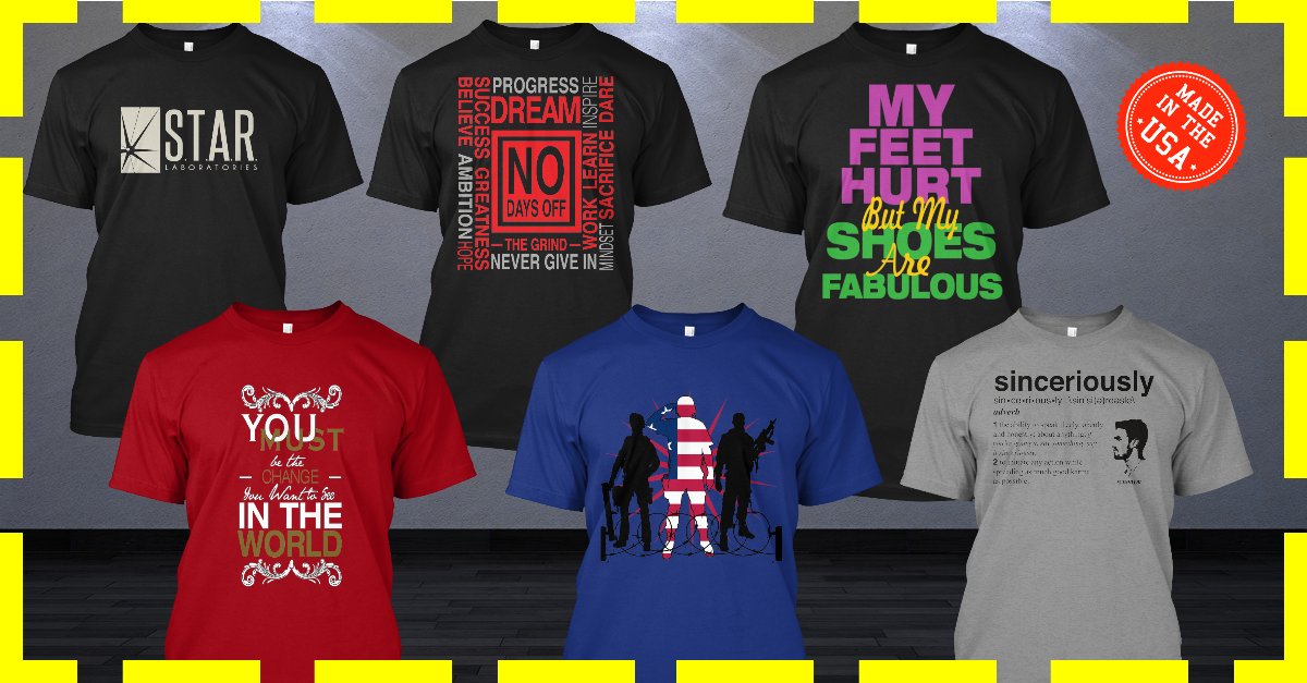 design tee spring and represent and sunfrogshirts